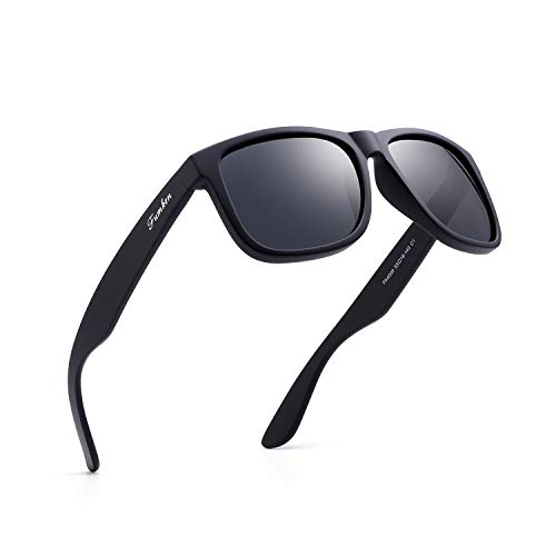 Mens Polarized Sunglasses Black Sunglasses Womens UV Protection Ultra Light