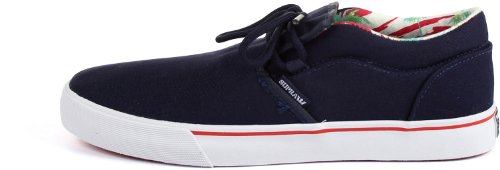 White Lowtop Navy Black Shoes Cuba Mens Supra YSCqwxZBC