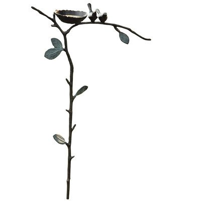 SPI Home 33292 Lovebird Garden Stake Bird Feeder