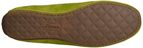 Sioux Ladies Muita Moccasin, Green (kiwi)