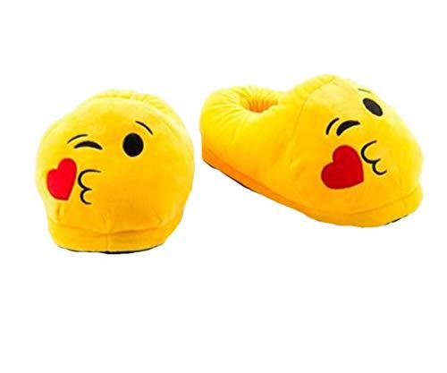 Emotion Bacio Cod Da Sole Poop 5021 Morbide Occhiali Smile Donna Super Occhi Bacio Unisex Uomo E Pantofole Cuore Emoji Fumetto Calde Linguaccia Peluche A FPdgd