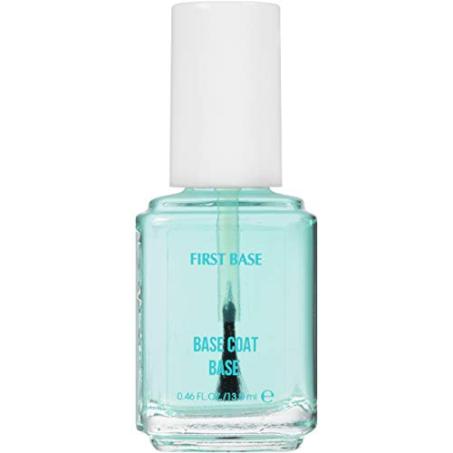 essie Base Coat Nail Polish, First Base Base Coat, Adhesion + Protection, 0.46 Fl. Oz.