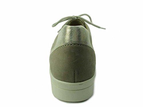 Beige À Pour De Femme Ville 3010120284 Chaussures Solidus Lacets vq68w