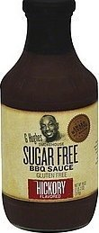 G Hughes Smokehouse Sugar Free BBQ Sauce, Hickory, 18 Ounce