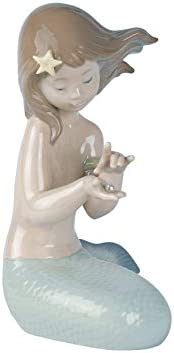 NAO Jewel of The Sea. Porcelain Mermaid Figure.