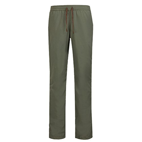 Zhhlinyuan Moda Fast Drying Pants Breathable Summer Climbing Sports Trousers Wear Waterproof Pants Army Green