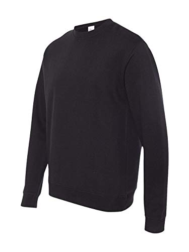 Independent Trading Co. SS3000 - Crewneck Sweatshirt, Black, Large