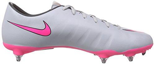 Nike Mercurial Victory V Sg - Zapatillas de fútbol Hombre Gris - Grau (Wolf Grey/Hyper Pink-Black-Black 060)
