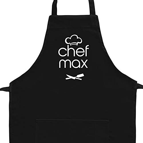 Eddany Apron Chef Max kitchen utensils Embroidery Custom Aprons - Adult