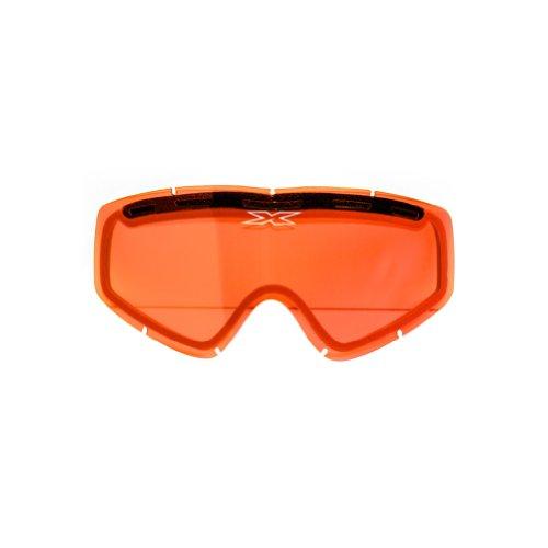 Snowmobile Eyewear Accessories - EKS Brand GOX Anti-Fog Adult Replacement Lens Snocross Snowmobile Eyewear Accessories - Red Mirror/One Size