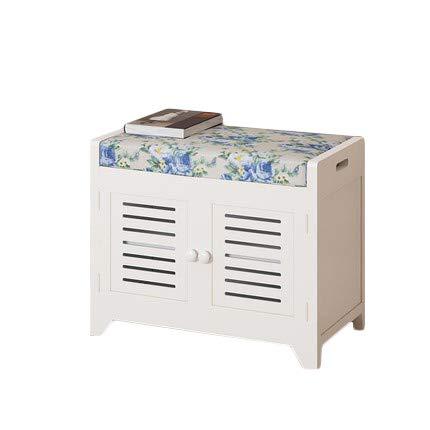 A  Storage stool Tabouret De RangeHommest Reste voitureré Boîte De RangeHommest Salon Chambre Tabouret Moderne avec Porte Basculante Robuste B