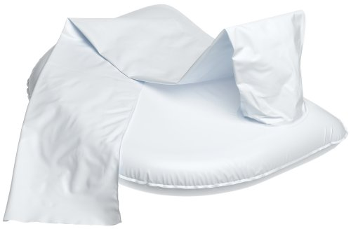 Ableware 764301250 Easy Inflatable Crescent Shampoo Basin, White