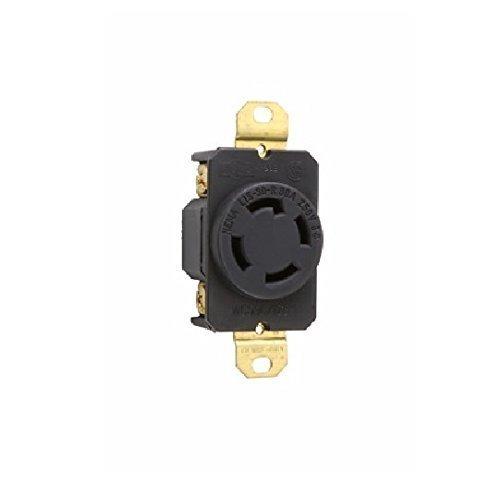 PASS & SEYMOUR L1530R 30A250V BLK 3P (Pass & Seymour Compact Outlet)