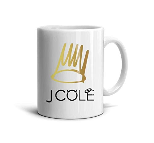 - J-Cole-2014-Forest-Hills-Drive- Classic Coffee Mugs 11oz Ceramic Tea Cups,J Cole Born,One Size