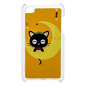 xiao Moon Pattern Hard Case with Rhinestone for iPod Touch 4