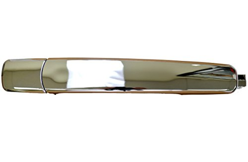 Driver Side Rear Chrome PT Auto Warehouse CH-3300M-RL Outside Exterior Outer Door Handle