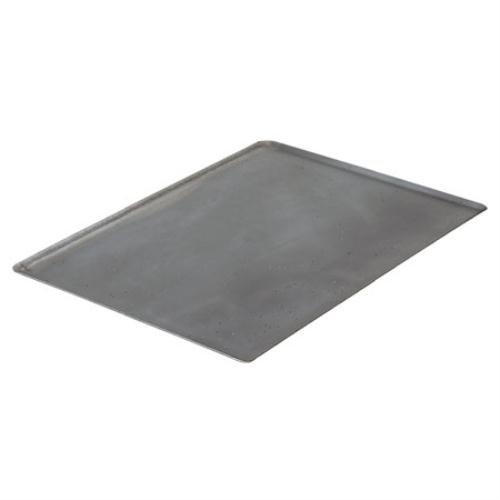 De Buyer Professional 40 cm x 30 cm Blued Iron La Lyonnaise Baking Tray with Oblique Edges 5363.40