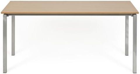 hjh OFFICE 673993 YORK I - Escritorio / mesa de ordenador 160 cm ...