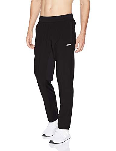 Amazon Essentials Men's Stretch Woven Training Pant, Black, Small