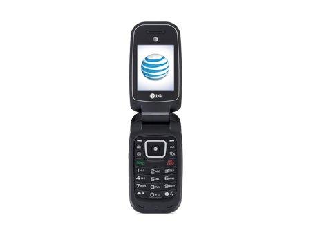 LG B470 AT&T Prepaid Basic 3g Flip Phone