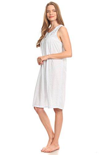 2e2b1857f6 Pink Label 0079 Women Night Gowns Sleep Shirts Pajamas at Amazon Women s  Clothing store