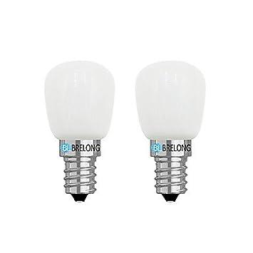 BRELONG® 2pcs 2W 120 lm E14 E12 Bombillas LED de Globo 1 leds COB Regulable