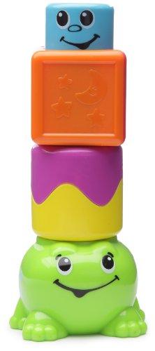 Fisher Price Stack N Surpise Blocks Peek-a-Boo Frog ()