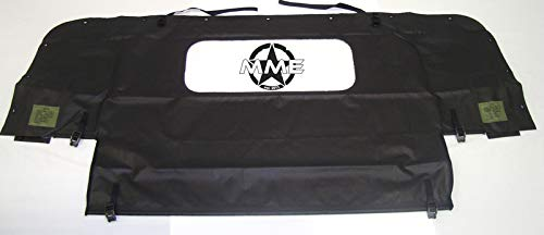 Midwest Military Equipment New Humvee M998 4 Man Black Soft TOP Rear Curtain HMMWV H1 Hummer ()