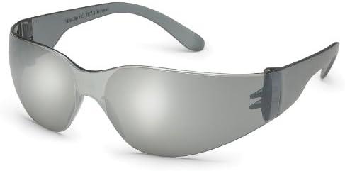 cd48e5b48da72 Starlite Sm Safety Glasses Gray Temple Silver Mirror Lens Kids