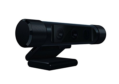 Razer Stargazer Depth-Sensing HD Webcam 30 FPS at 1080P & 60 FPS at 720P - Windows Hello Compatible - Dynamic Background Removal - USB 3.0 Required