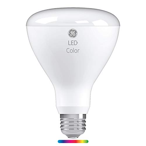 GE Lighting LED+ Color BR30 Indoor LED Light Bulb with Remote Control, Link up to 10 Units 65-Watt Replacement, Full Spectrum