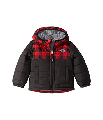 The North Face Kids Baby Boy's Reversible Mount Chimborazo Hoodie (Toddler) TNF Red Buffalo Check Print 2T ()