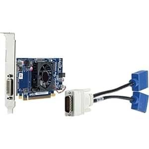 HP QK638AT - Tarjeta gráfica (Radeon HD 6350, 2048 x 1536 Pixeles, AMD, DDR3-SDRAM, 64 Bit, PCI Express x16)