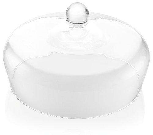 Garden Footed Cake Plate (IVV Glassware Cake Dome 11-Inch Diameter IL Giardino Segreto)