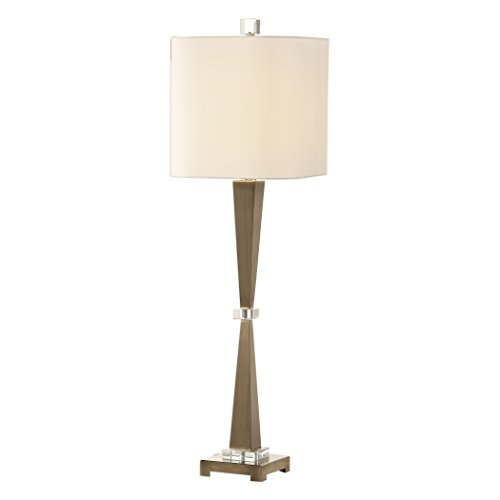 Uttermost Niccolai Antique Brushed Nickel Buffet Table Lamp