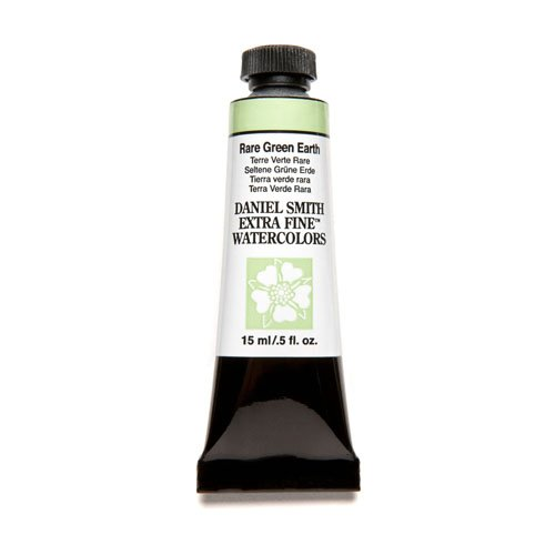 DANIEL SMITH Extra Fine Watercolor 15ml Paint Tube, Rare Green Earth