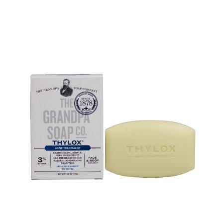 Grandpas Thylox Acne Treatment Soap 3.25 oz
