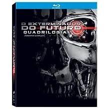 Blu-ray Quadrilogia O Exterminador do Futuro