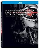 Blu-ray Quadrilogia O Exterminador do Futuro [ The Terminator Quadrilogy] [ Brazilian Edition ] [ Audio and Subtitles English + Spanish + Portuguese ]