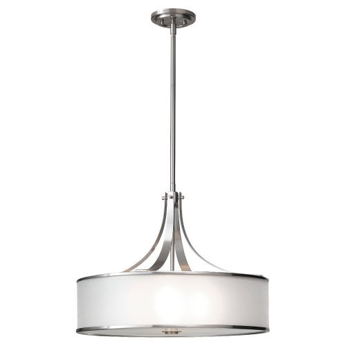 Murray Feiss F2343/4BS Casual Luxury 4 Light Large Pendant, Brushed Steel by Murray Feiss by Murray Feiss (Image #1)