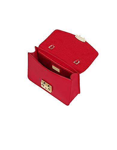 Rosso Mano Pelle 948627 Borsa A Donna Furla v4wqgU17