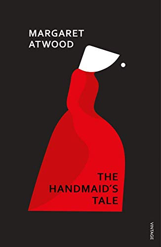 Book cover from The Handmaids Tale