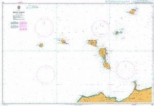 Ba Diagramm 172  Isole (Ellé) EOLIE von UNITED KINGDOM Hydrographic Büro