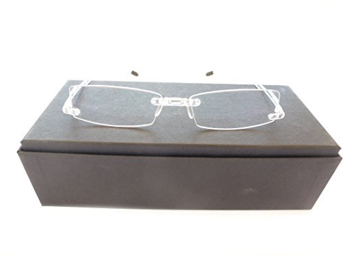 Swissflex Eyephorics Reading glasses strength +1.00 color: Transparent Size: 52-17-140 by swissflex