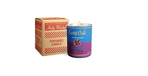 Andy Warhol Scented Campbell's Soup Can Candle - Blue / Purple (Fig & Tree Scent) Andy Warhol Campbells Soup Can
