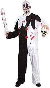 DISBACANAL Disfraz de Payaso Asesino Halloween - -, XL: Amazon.es ...