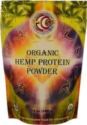 Earth Circle Organics, Organic Hemp Protein Powder, 12 oz (340 g) by Earth Circle Organics by Earth Circle Organics