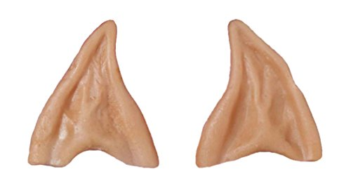 [Adult Latex Alien Elf Fairy Spock Pointy Ear Tips LARP Cosplay] (Lotr Elves Costumes)