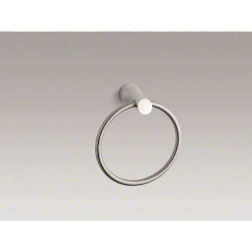 KOHLER K-5671-BN Toobi Bathroom Towel Ring, Vibrant Brushed Nickel by Kohler (Image #4)