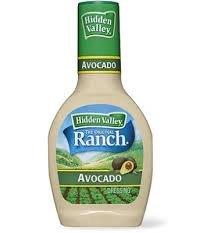 Hidden Valley, Ranch Dressing, Avocado, 16 Ounce Bottle (Pack of 2) by Hidden Valley